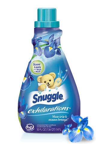 Snuggle® Exhilarations® Blue Iris & Ocean Breeze® Fabric Softener