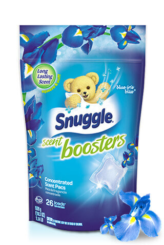 Snuggle® Exhilarations® Blue Iris Bliss® Pacs Fragrance Boosters