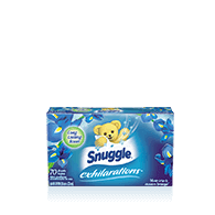 Snuggle® Exhilarations® Blue Iris & Ocean Breeze® Dryer Sheets