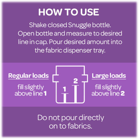 How to Use Snuggle® Softener