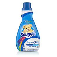 Snuggle® SuperCare™ Sea Breeze Liquid Fabric Softeners